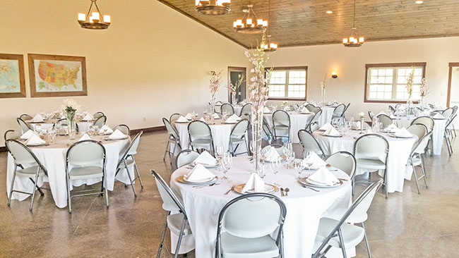Restraunt Style Reception Space Venue Dining Hall